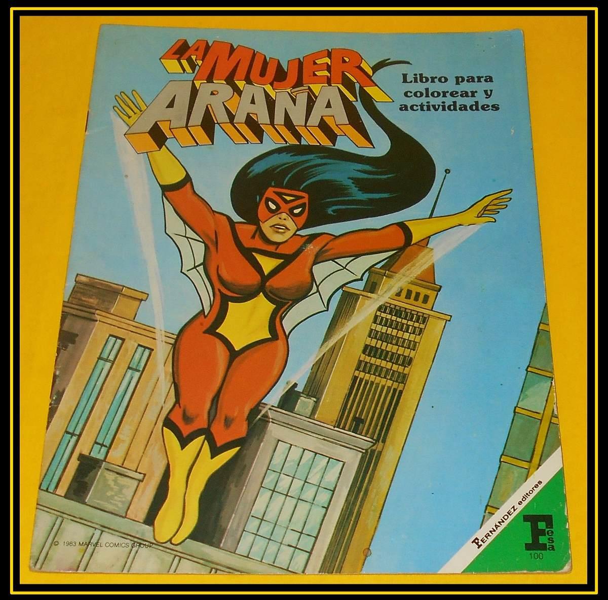 Ccc21 Marvel Comics Fernandez Editores La Mujer Araña - $ 350.00 en ...