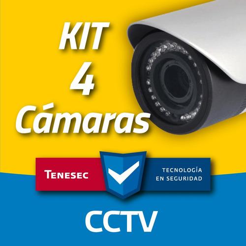 cctv hd 2 megapixel, instalación incluida en edomex y cdmx