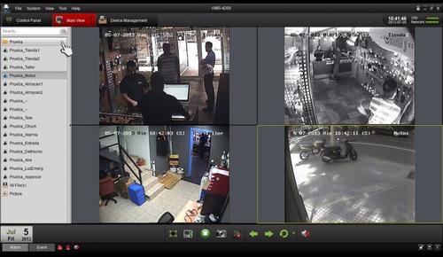 cctv hikvision kit dvr 4 +4 camaras seguridad + d.duro 1tb