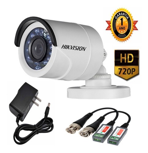 cctv hikvision  kit dvr 8 ch + 8 camaras seguridad + cable