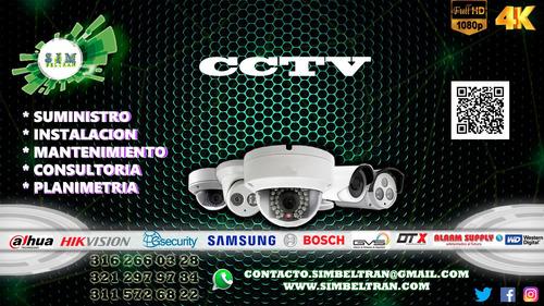 cctv iluminacion redes electricidad control de acceso