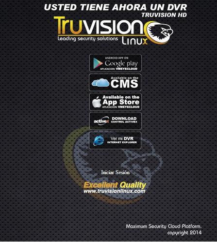cctv kit  4 camaras de seguridad truvision + disco duro