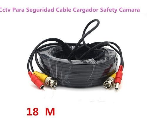 cctv para seguridad cable charger video powe