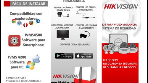 cctv turbo 720p hikvision nuevo promoción