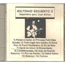 Cd - Miltinho Adilberto - Vol 2 - Lacrado