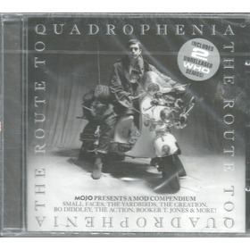 Cd - The Route To - Quadrophenia - Lacrado
