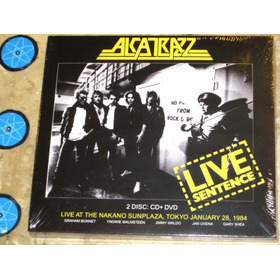 Cd + Dvd Alcatrazz - Live Sentence (1984) Lacrado C/ Bônus
