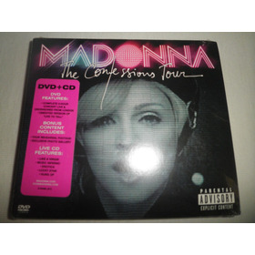 Cd + Dvd Madonna - The Confessions Tour (nuevo) (eeuu 2007)