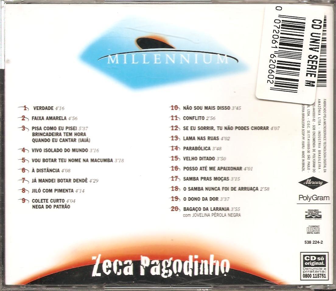 cd millennium zeca pagodinho