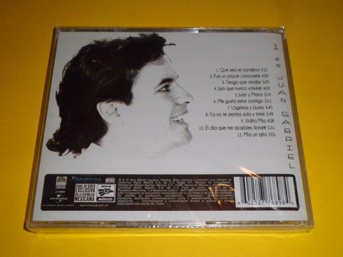 cd. 1 es juan gabriel. fonovisa. nuevo y sellado!.