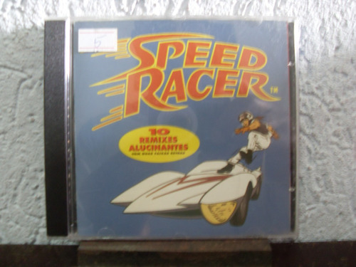 cd 10 remixes alucinantes speed racer
