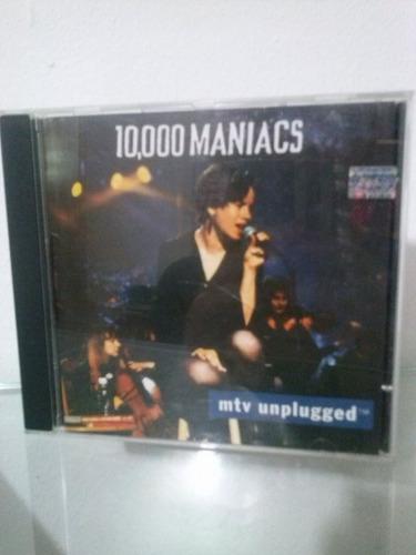 cd - 10.000 maniacs  - mtv unplugged
