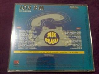 cd - 105 fm só alegria - disk brasil - promoção - oferta