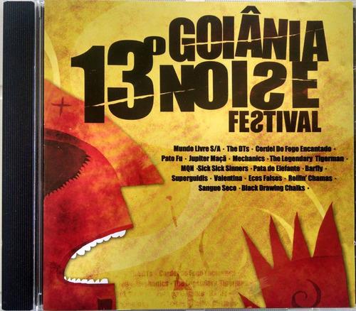 cd 13º goiânia noise festival- novo - lacrado