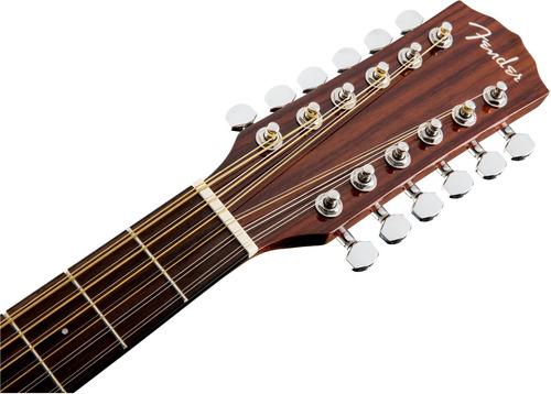 cd-140sce 12cuerda guitarra electroacustica fender c/estuche