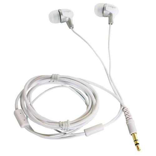 cd 168 - fone de ouvido in-ear branco cd168 - yoga