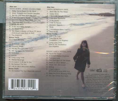 cd 2 de  linda ronstadt  lo mejor  nuevo