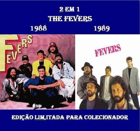 cd 2 em 1 - the fevers - 1988 & 1989