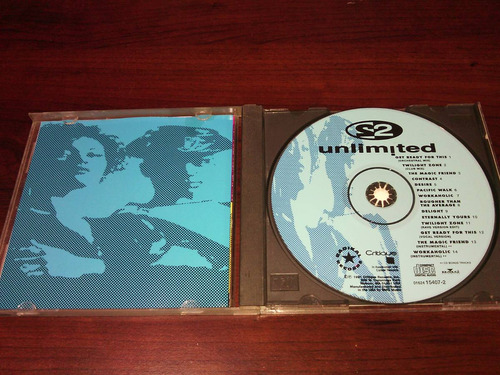 cd 2 unlimited   the album get ready for this 1992
