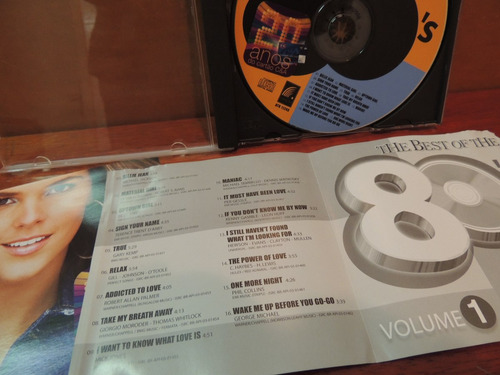 cd 20 anos cartão c&a the best of the 80's volume 1