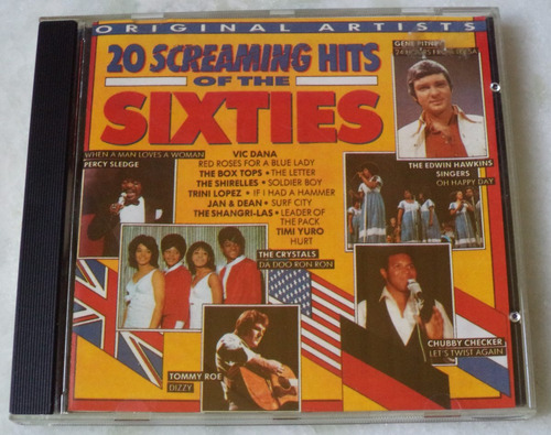 cd 20 screaming hits of the sixties
