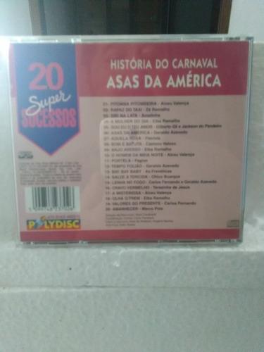 cd - 20 super sucessos - asas da américa