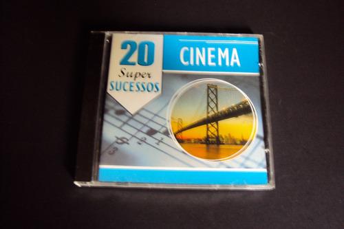 cd 20 super sucessos  - cinema