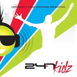 cd 24.7 kidz (para niños)- emmanuel y linda (de rojo)