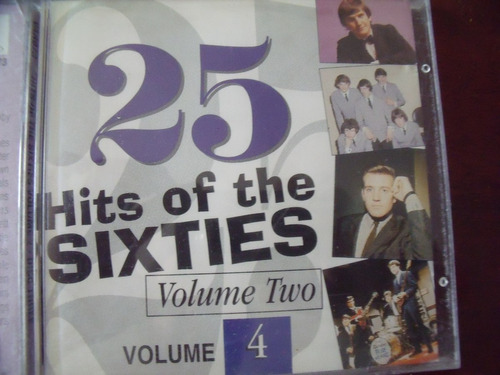 cd 25 hits of sixties vol 4,