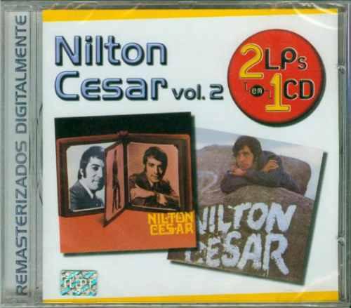cd 2em1 nilton cesar vol.2 - 1970 - 1971 - lacrado