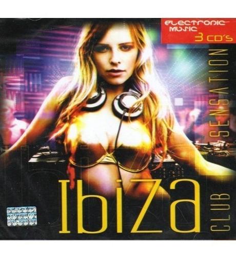 cd 3 discos ibiza club sensation