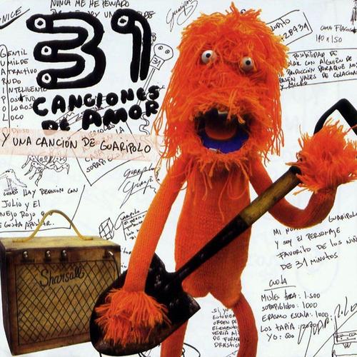cd 31 minutos, 31 canciones de amor y una canción de guaripo
