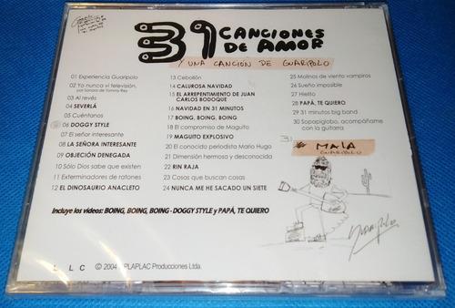 cd - 31 minutos - canciones de amor - musica infantil