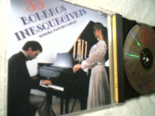 cd ( 33 boleros inesquecíveis - sonora pancho vargas ) raro