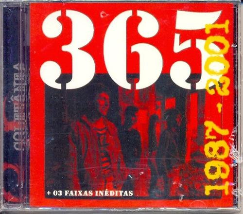 cd 365 1987 ~ 2001 com 3 faixas inéditas  lacrado