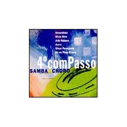 cd 4º compasso - samba e choro edição 2001 novo e lacrad