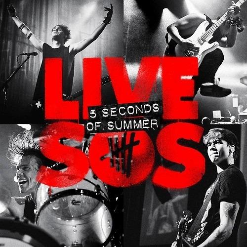 cd 5 seconds of summer live (2014) 5sos * lacrado * original
