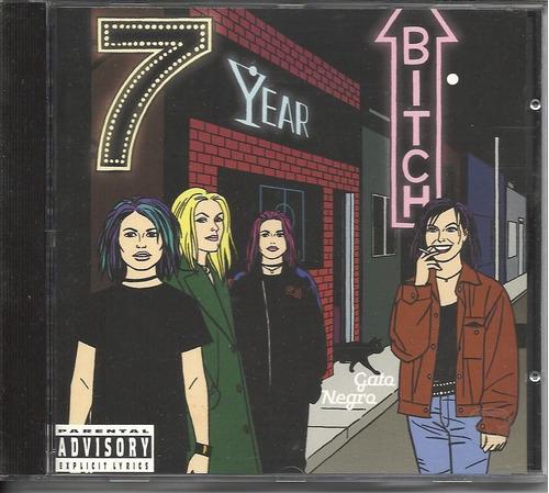 cd 7 year bitch gato negro 1996 importado