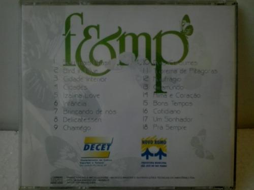 cd 8ª festival de musica da primavera 1995 s j do pardo sp