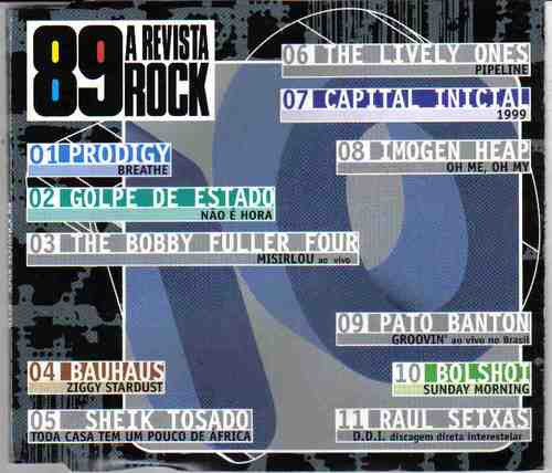cd 89 a revista do rock nº 10 - raridade