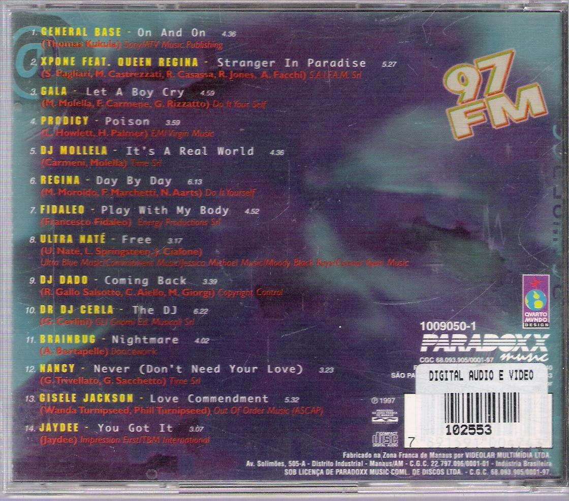 Cd 97 Fm Hot Nine Seven Vol6 - R 20,00 Em Mercado Livre-1346