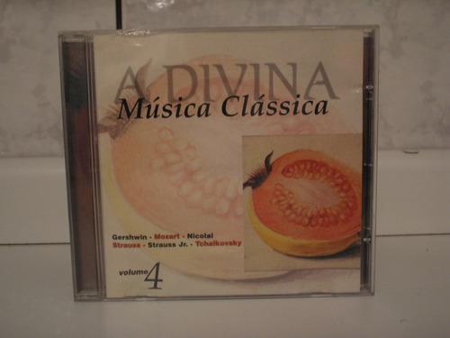 cd a divina música clássica # vários
