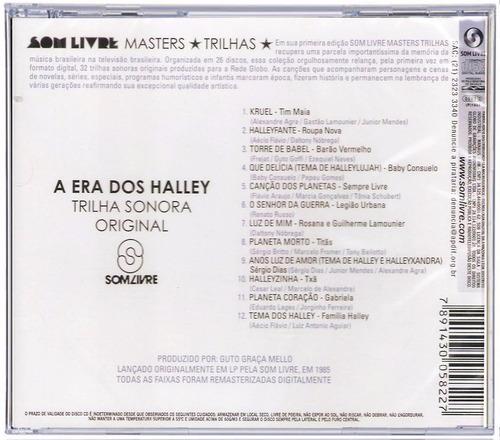 cd a era dos halley trilha sonora do seriado1985 'original'