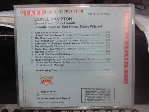 cd - a jazz hour with - lionel hampton & friends