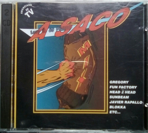 cd a saco mix varios doble 1994