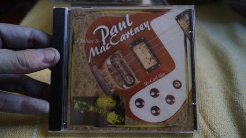 cd a tribute to paul maccartney by call slin