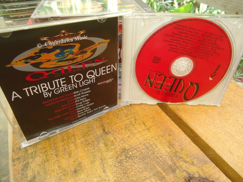cd a tribute to queen - by green light
