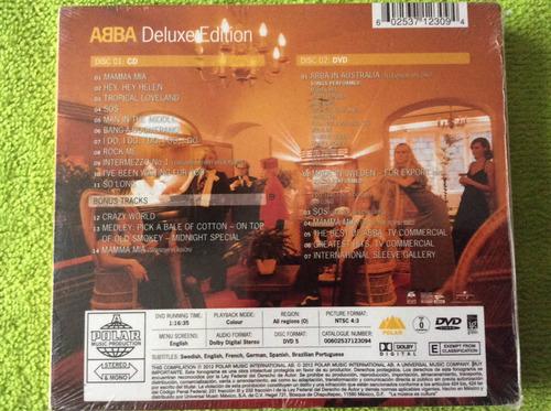 cd abba abba deluxe edition cd+dvd digipack