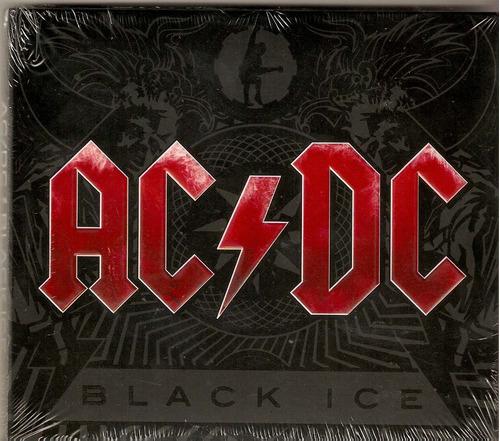 cd ac/ dc - black ice / digipack - novo***