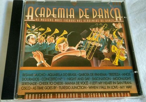 cd academia de dança orquestra tabajara de severino araújo